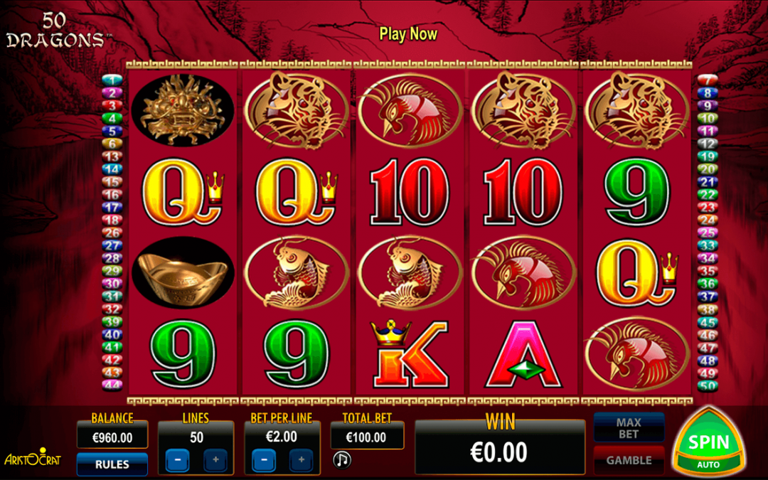 Free Download And Play Pokies Online like 50 lions & 5 Dragons, Get Some Free Spins To Play Free Aristocrat Pokies